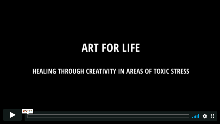 Healing Through Creativity in Areas of Toxic Stress